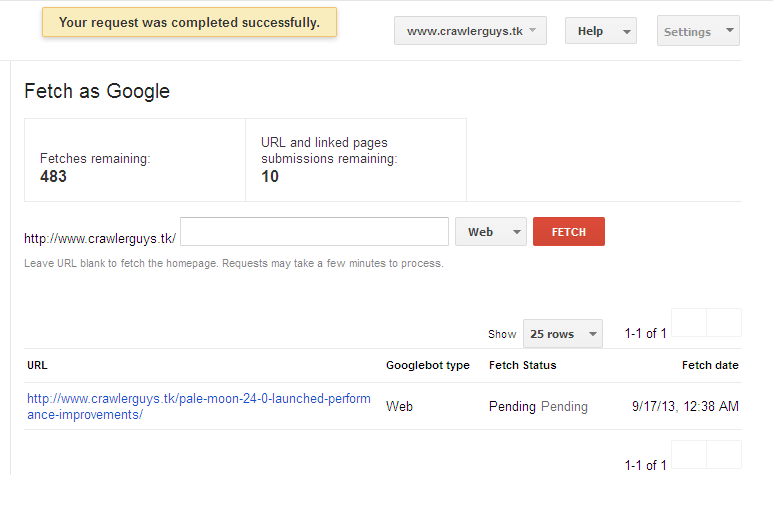 google indexing 4