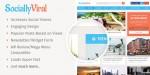 SociallyViral MyThemeShop WordPress Theme At 50% Off